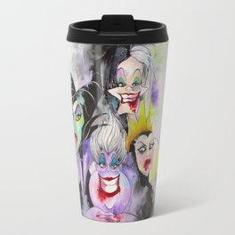 Abstract Villains Travel Mug