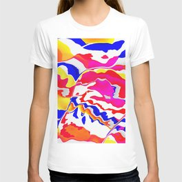 Zebra eating candy T-shirt