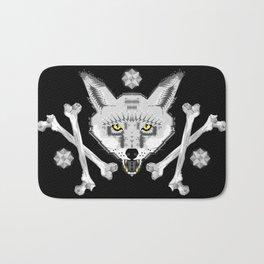 Silver Fox Geometric Bath Mat