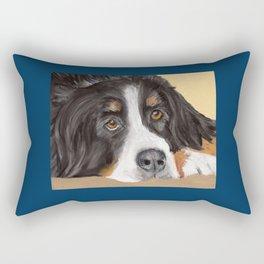 Bernese Mountain Dog Rectangular Pillow