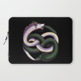 Wolf and Dragon Laptop Sleeve