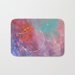 Abstract art Bath Mat