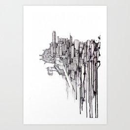 Reclaimed Art Print