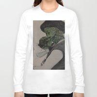 bond Long Sleeve T-shirts featuring Bond by Julio Paniagua