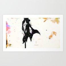 GOLDEN SLUMBERS Art Print