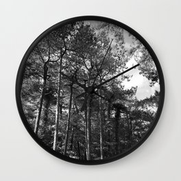 Wood For The Trees Wall Clock
