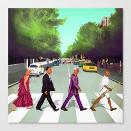 HIPSTORY - Come Together Canvas Print