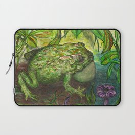 Rain Forest Toad Laptop Sleeve