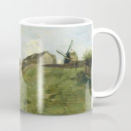 The hill of Montmartre with stone quarry by Vincent van Gogh Coffee Mug