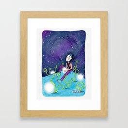 Deseo Framed Art Print