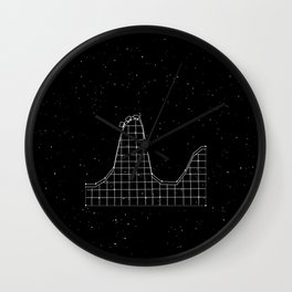 Roller Coaster Constellation Wall Clock