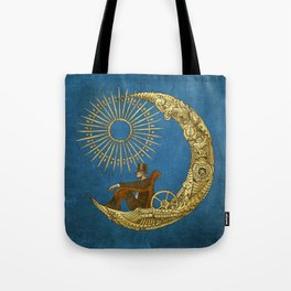 Moon Travel (Colour Option) Tote Bag