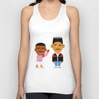 fresh prince Tank Tops featuring The Fresh Prince (Version 2) by Evan Gaskin
