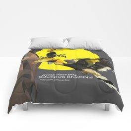 bucheros bicornis Comforters