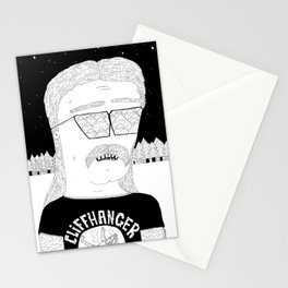 Cliffhanger Stationery Cards