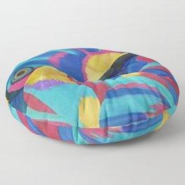 Butterfly Fish Birds Floor Pillow