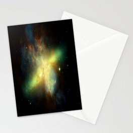 Galaxy : Messier 82 Stationery Cards