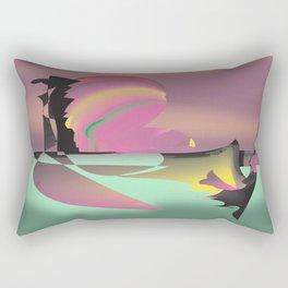 The Lovers Quarrel Rectangular Pillow