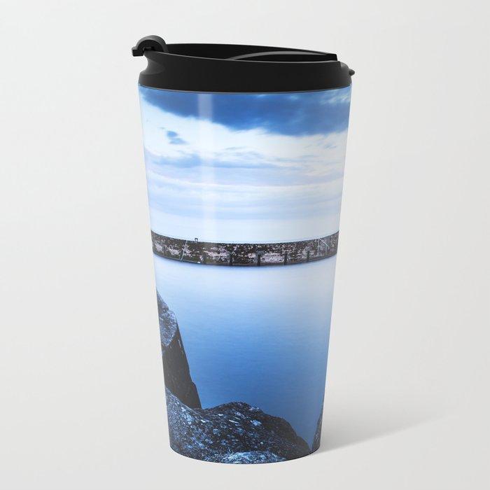 Seeking comfort Metal Travel Mug