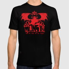 Game monster  Black Mens Fitted Tee MEDIUM