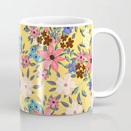 Stylish garden floral design Coffee Mug