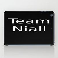 niall iPad Cases featuring Team Niall by maggi524