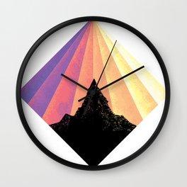 Ray of Sun Wall Clock