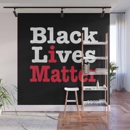 BLACK LIVES MATTER (inverse version) Wall Mural