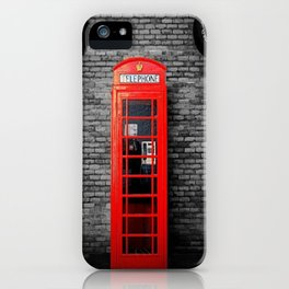 Old Bushmills Phone Box iPhone Case