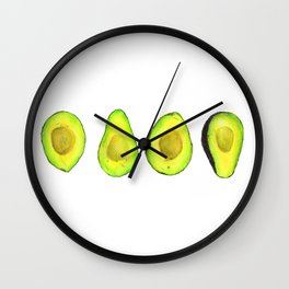 Avocado Lover Wall Clock