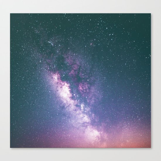 Galaxy dreams Canvas Print