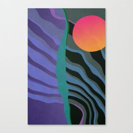 Crepuscular Streams Canvas Print