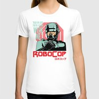robocop T-shirts featuring Robocop  by Buby87