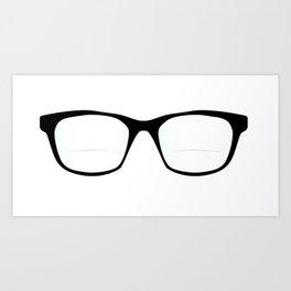Pair Of Optical Glasses Art Print