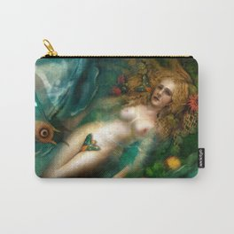 Death, Life, Hope Carry-All Pouch