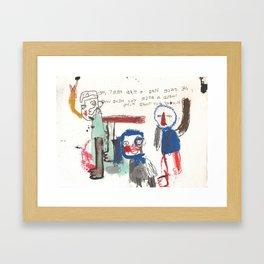 bolos Framed Art Print