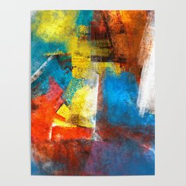 Infinity abstract painting | Abstract Painting Poster