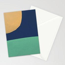 Paint Block Landscape Stationery Cards