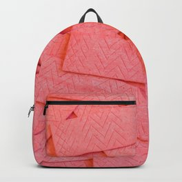 Pink Strawberry Bubblegum Strips Pile Photograph Backpack