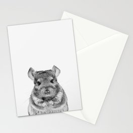 Chinchilla Stationery Cards