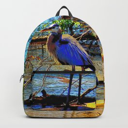 Blue Heron Backpack