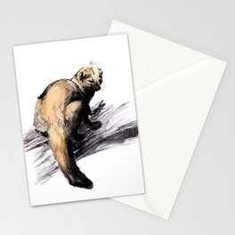 Totem Pekan (Martes pennanti) Stationery Cards