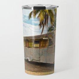 Playa Larga Bus Cuba Beach Hobo House Landscape Tropical Island Home Caribbean Sea Travel Mug