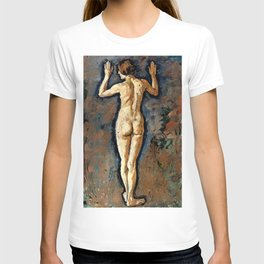 "Koloman (Kolo) Moser ""Woman portrait from back"" T-shirt"