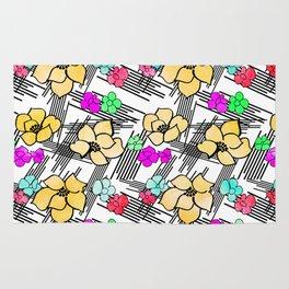 Pop Kimono Pattern Rug
