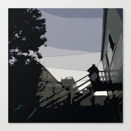 Quite Moment, San Francisco  Canvas Print