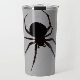 Orb Weaver Silhouette Travel Mug