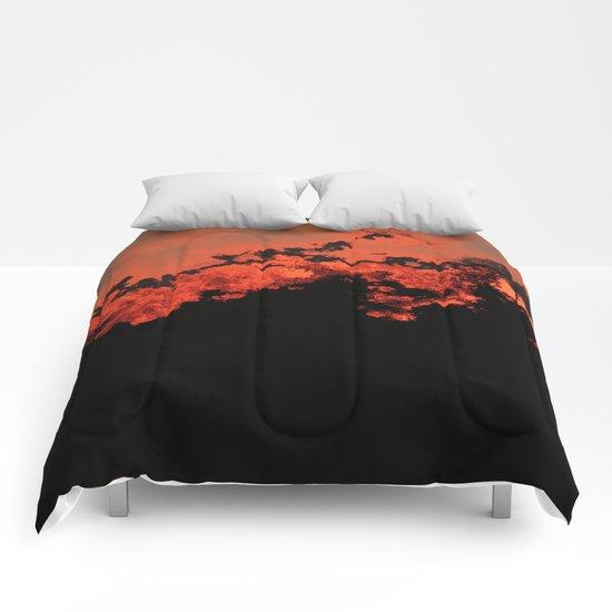 Electric Storm Comforters