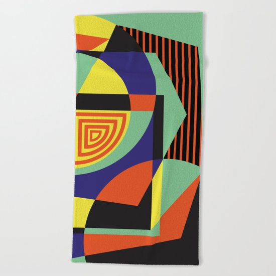 Geometric#14 Beach Towel