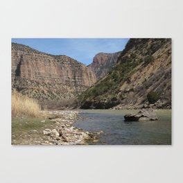 Green River, Dinosaur National Monument Canvas Print